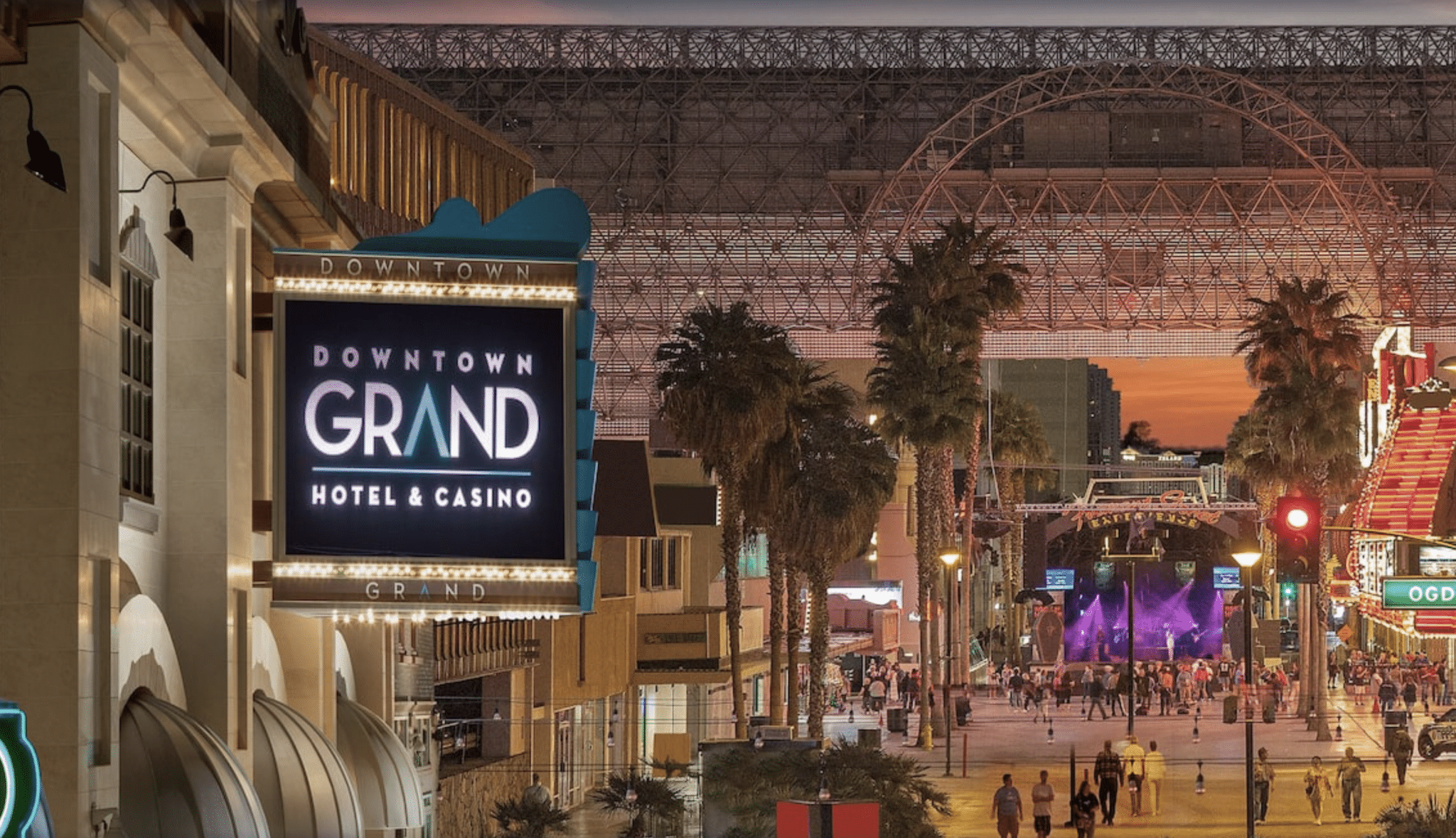 DOWNTOWN GRAND LV SIGN