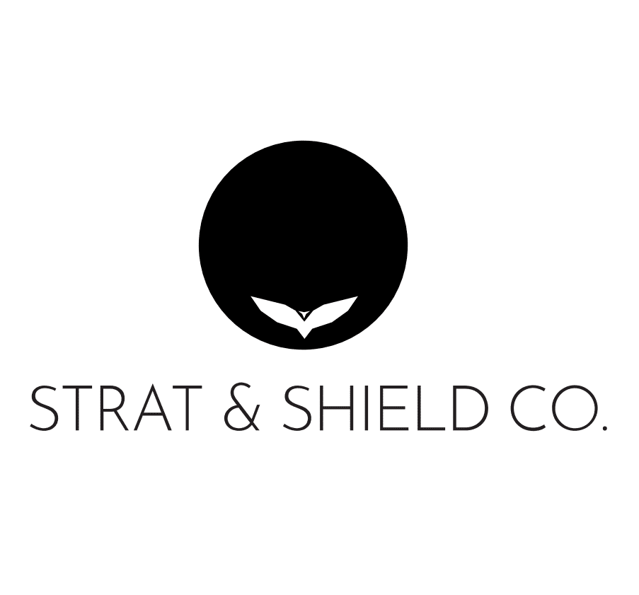 strat and shield co logo